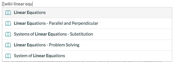 Wiki Formatting | Brilliant Math & Science Wiki