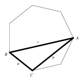 Heptagonal Triangle