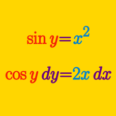 how to solve implicit differentiation problems