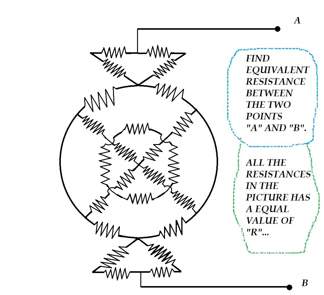 Find The Equivalent Resistance Raja Metronetizen Brilliant Circuit Examples
