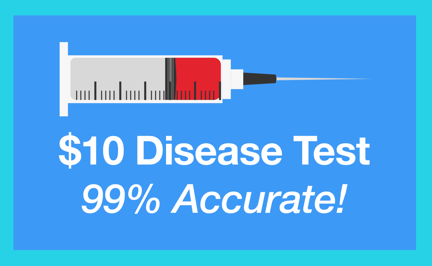 A disease test is advertised as being 99% accurate if you have the disease you will test positive 99% of the time and if you donu0027t have the disease ...  sc 1 st  Brilliant & Bayesu0027 Theorem and Conditional Probability | Brilliant Math ... Aboutintivar.Com
