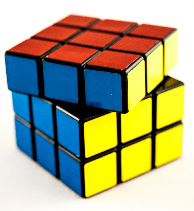 The possible moves on a Rubik's cube form a (very large)