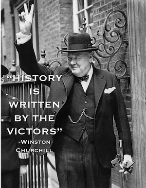 Winston Churchill was, perhaps inadvertently, an advocate of survivorship bias.