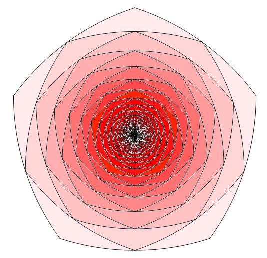 Reuleaux polygon done by Geogebra