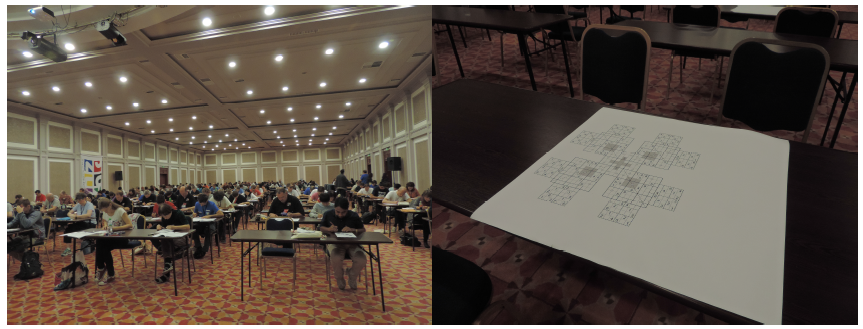 Images from the 2015 World Sudoku Championship in Sofia, Bulgaria. [5,6]